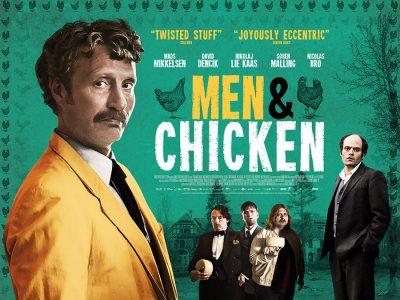 Original Quad poster design : Men & Chicken